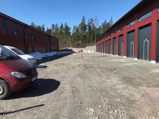 Talliosake: Rajamaankaari, Espoo