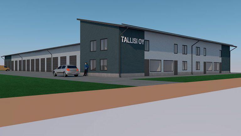 Tampereen Ruskolinna- Toimisto-osake, Talliosake